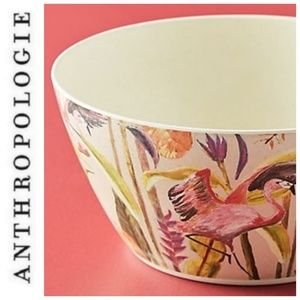 Anthropologie Bamboo Fiber Bowl Catchii Wild J